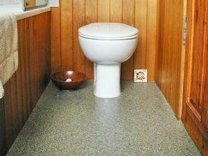 Quartz screeding bathroom