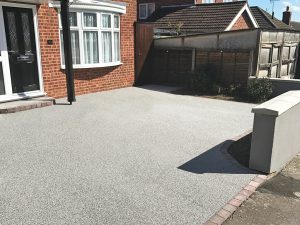 Resin Bound Drive - after